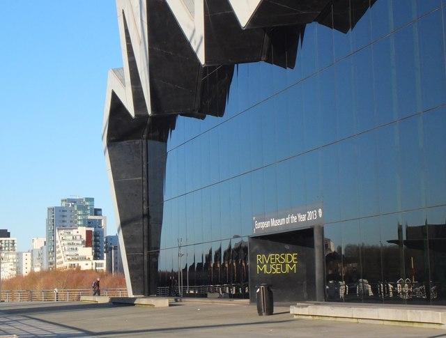 South entrance, Riverside Museum Glasgow