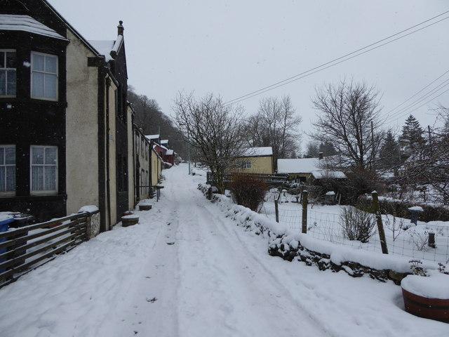 Snow in Leadhills