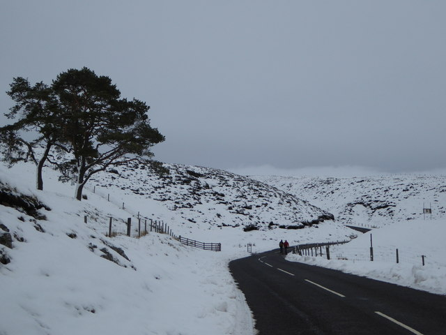 Winter walk, Leadhills