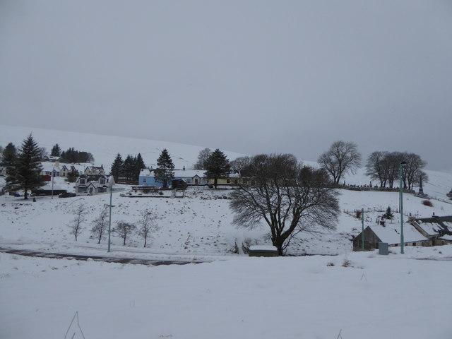 Winter in Leadhills