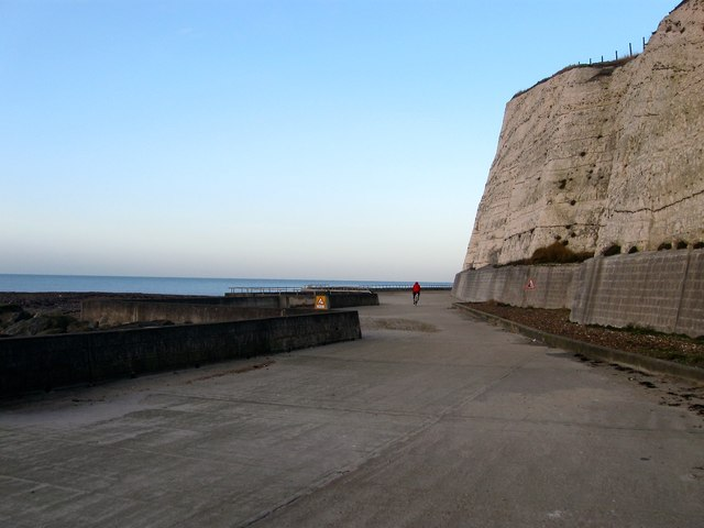 Undercliff Walk, Saltdean by Simon Carey