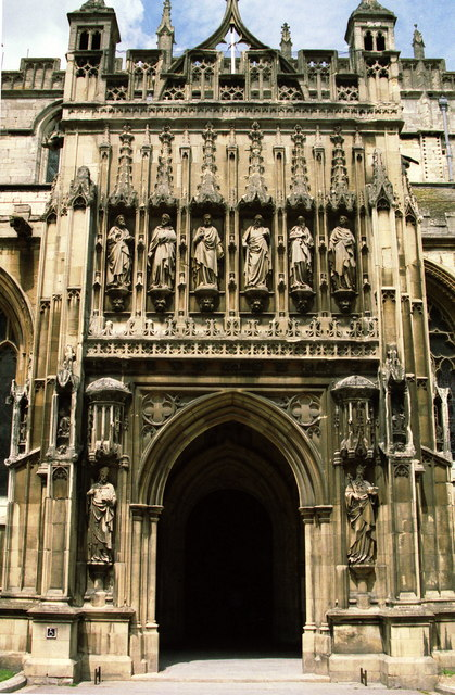 The South Porch of Gloucester Cathedral