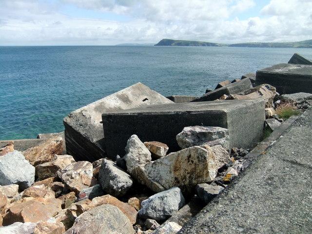 North breakwater, Fishguard harbour (4)