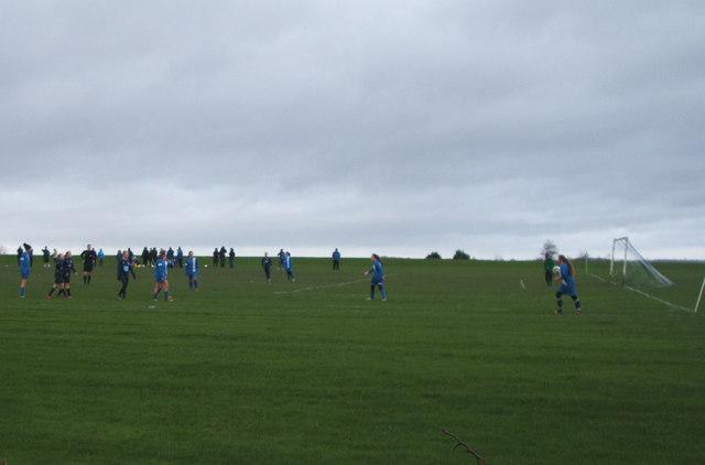 Football field, School Aycliffe