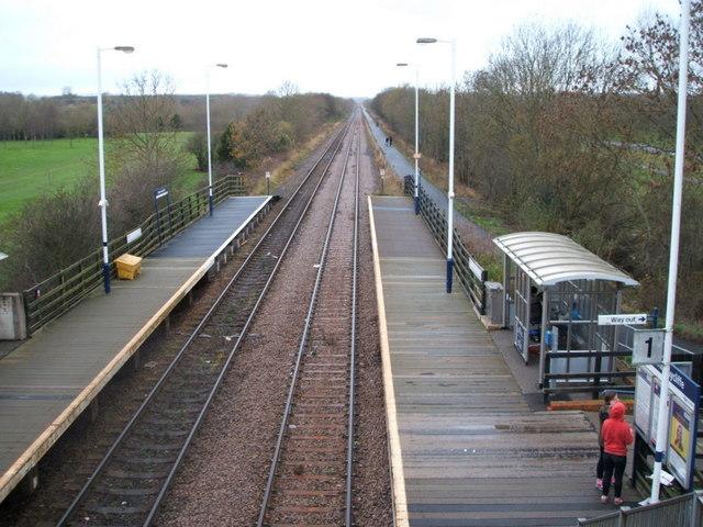 Newton Aycliffe Railway Station