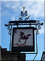 TF4609 : The Horsefair Tavern (Sign) - Public Houses, Inns and Taverns of Wisbech by Richard Humphrey