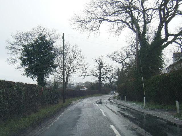 Wicker Lane near The Byatts