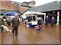 SO8505 : Farmers' market, Cornhill Market Place, Stroud by Chris Allen