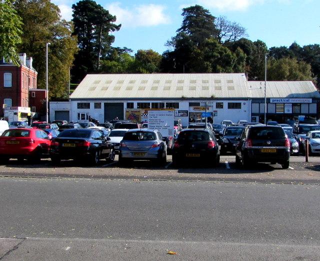 Exeter St Davids Station Car Park
