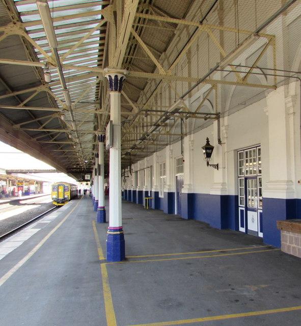 British Transport Police office on Exeter St Davids railway station