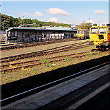 SX9193 : Great Western Railway Exeter Depot by Jaggery