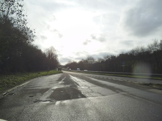 A22 layby