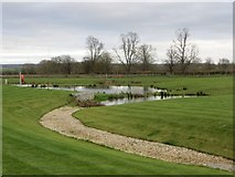 SU5985 : Into the Pond by Bill Nicholls