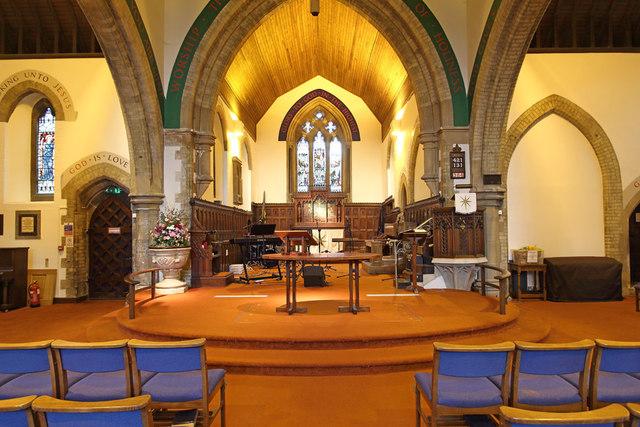 Christ Church, Roxeth Hill - East end