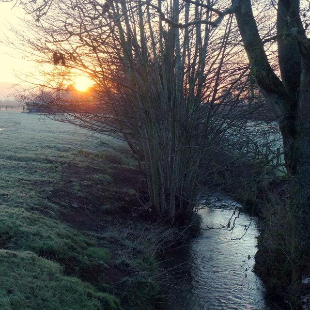 Dawn over the Dore