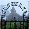 SO0833 : St. Mary's church, Talachddu by Jonathan Billinger