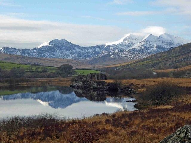 Snowdonia reflected
