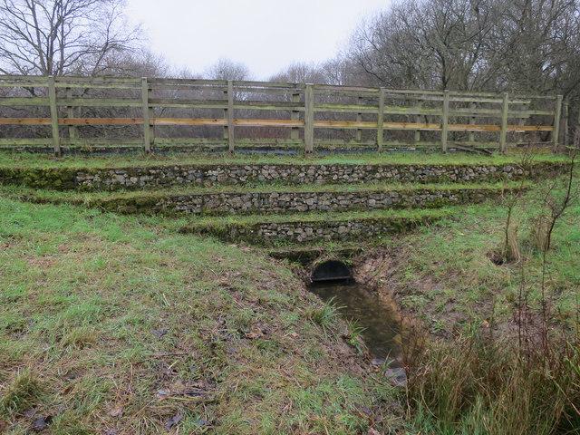 Flow attenuation scheme, The Rye, Ashtead Common
