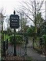 SU8604 : Chichester Walls Walk - entrance to SE quadrant  by Rob Farrow