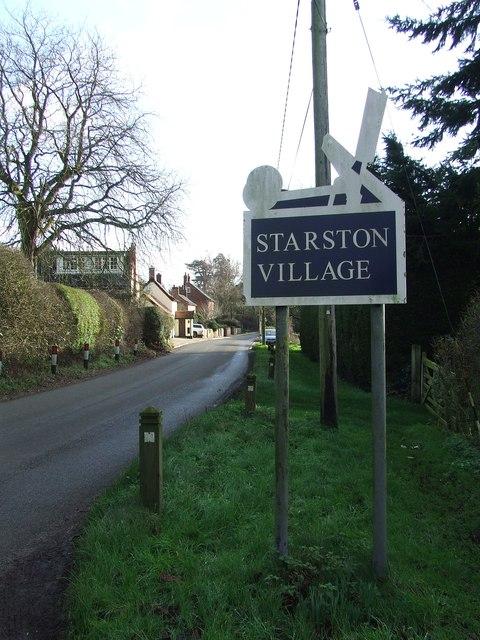 Entering Starston