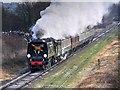 SD8110 : Golden Arrow on East Lancs Railway by David Dixon