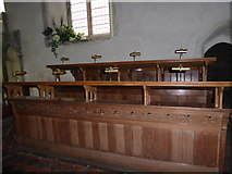 TQ5203 : St Andrew, Alfriston: choir stalls by Basher Eyre