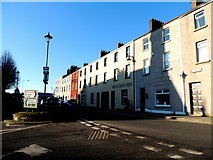 H4472 : Shadows along James Street, Omagh by Kenneth  Allen
