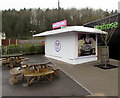ST7095 : Baskin-Robbins ice cream stall, M5 Motorway Michaelwood Services (northbound) by Jaggery