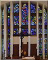 TF0267 : East Window, All Saints' church, Branston by Julian P Guffogg
