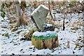 NT2739 : Boot sculpture, Eshiels by Jim Barton