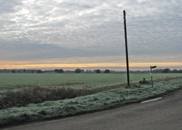 A frosty morning in The Fens