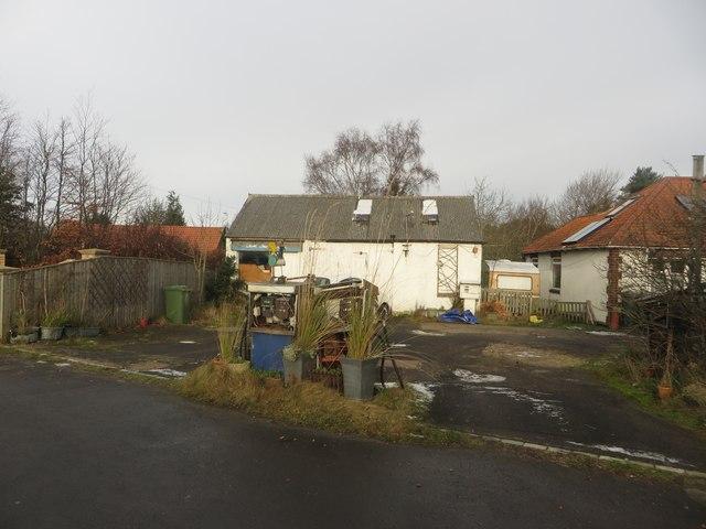 Former independent garage, Morpeth