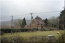 TQ2151 : Cottage, Rectory Lane by N Chadwick