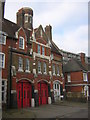 TQ4278 : Woolwich: closed fire station, Sunbury Street by Christopher Hilton