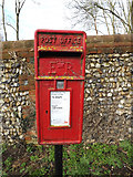 TL2013 : Waterend Lane Postbox by Adrian Cable