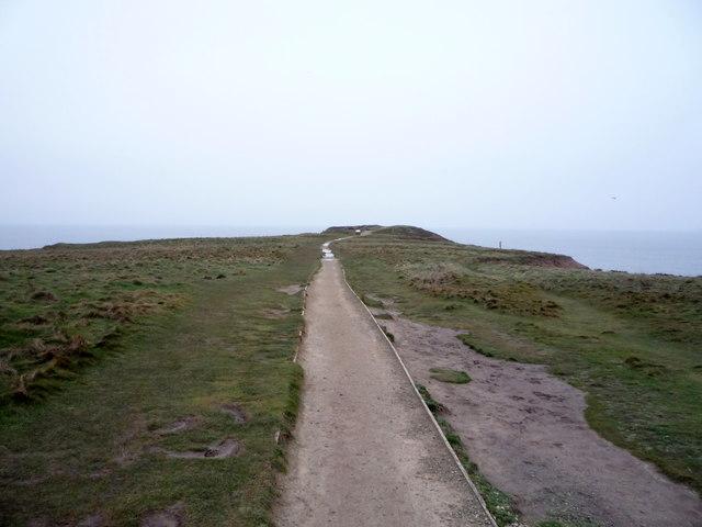 Path on Carr Naze