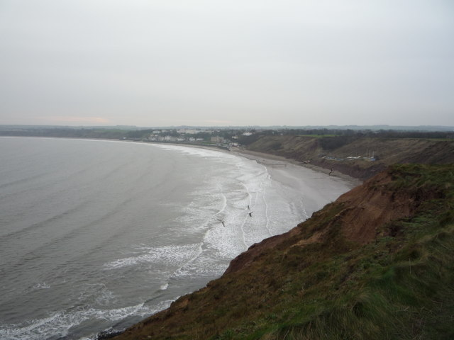 Filey Bay from Carr Naze