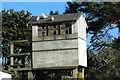 SH8378 : Dovecote and doves by Richard Hoare