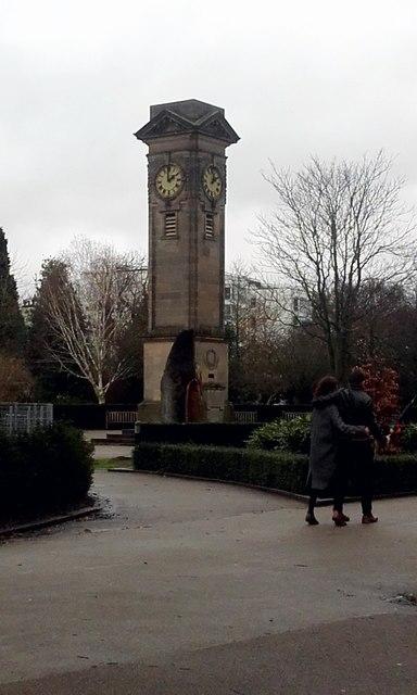 Clock Tower, Jephson Gardens