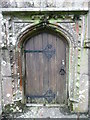 SW7532 : The west (tower) doorway of St Laud's Church, Mabe by Humphrey Bolton