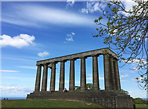 NT2674 : The National Monument, Calton Hill by John Allan