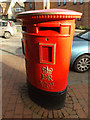 TL1714 : Wheathampstead Post Office Postbox by Adrian Cable