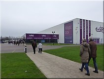 SJ7796 : Event City, Trafford Park by Eirian Evans