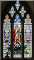 TF0761 : South Stained glass window, St Wilfred's church, Metheringham by Julian P Guffogg