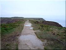 TA1281 : Footpath on Carr Naze by JThomas