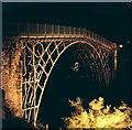 SJ6703 : Abraham Darby's Iron Bridge by John Winder