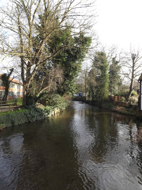 River Lea at Wheathampstead