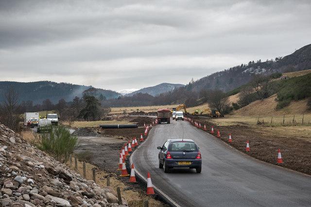 New road at Micras