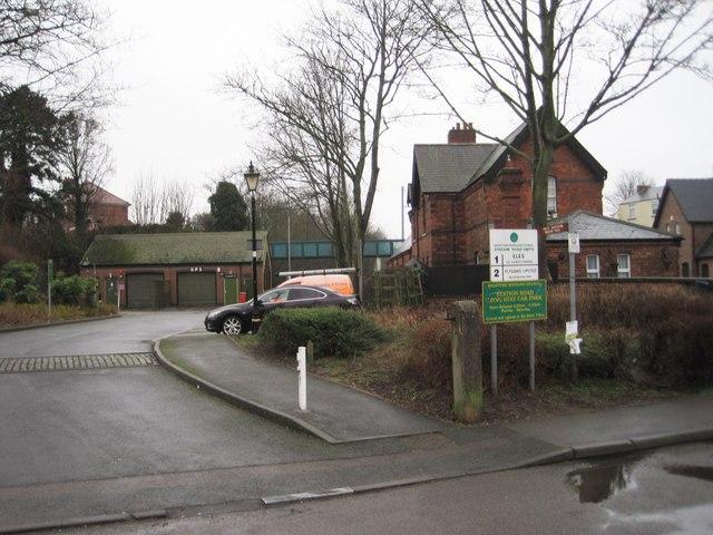 Kimberley (East) railway station (site), Nottinghamshire