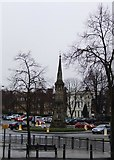 SP4540 : Banbury Cross by Tim Glover